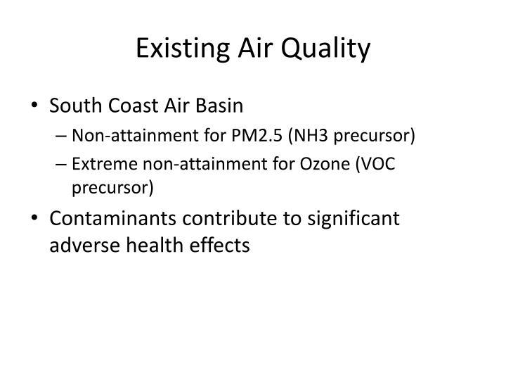 Existing Air Quality