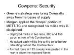 cowpens security