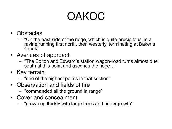 OAKOC