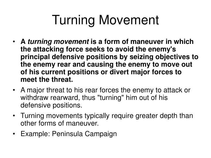 Turning Movement