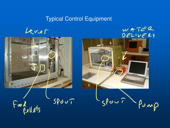 Typical Control Equipment