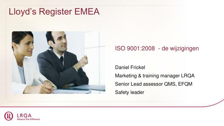 Lloyd s register emea