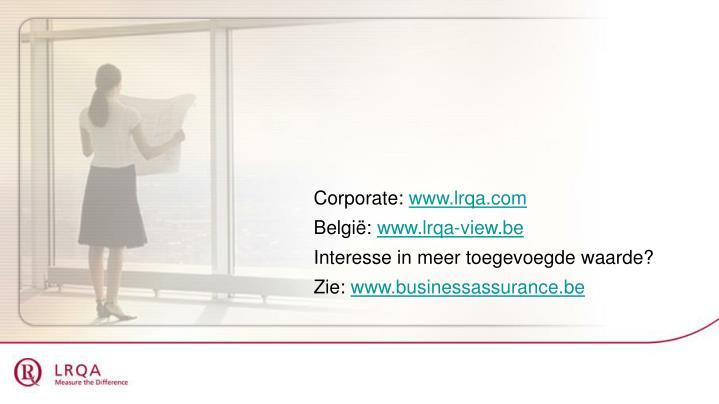 Corporate: