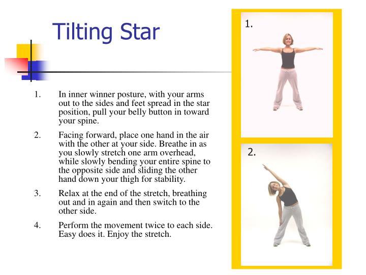 Tilting Star