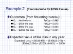 example 2 fire insurance for 250k house