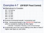 examples 4 7 gf egf flood control