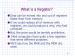 what is a register