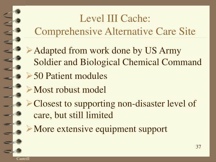 Level III Cache: