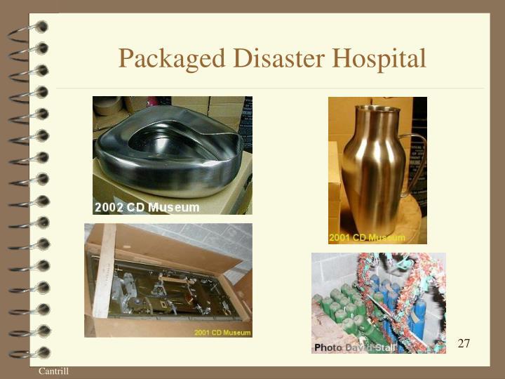 Packaged Disaster Hospital