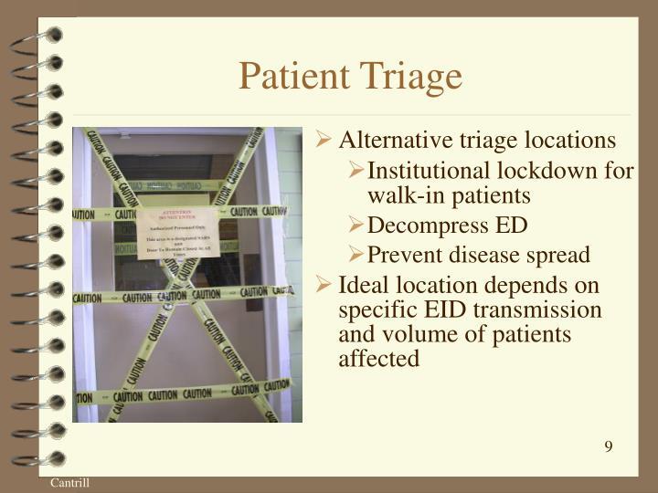 Patient Triage