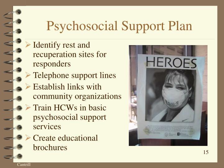 Psychosocial Support Plan