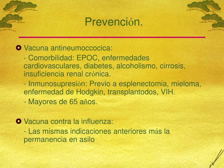 Prevenci