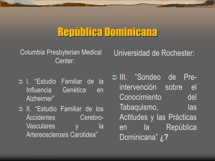 Columbia Presbyterian Medical Center: