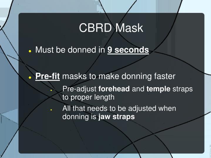CBRD Mask