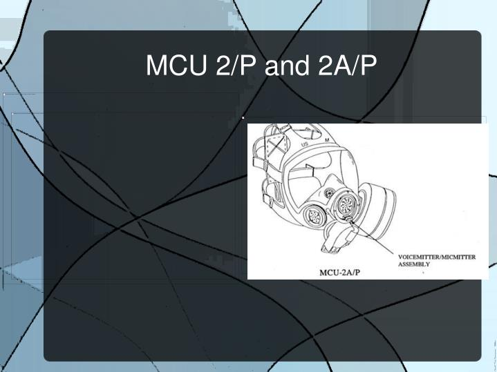 MCU 2/P and 2A/P