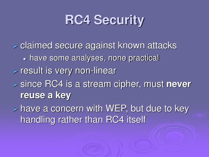 RC4 Security