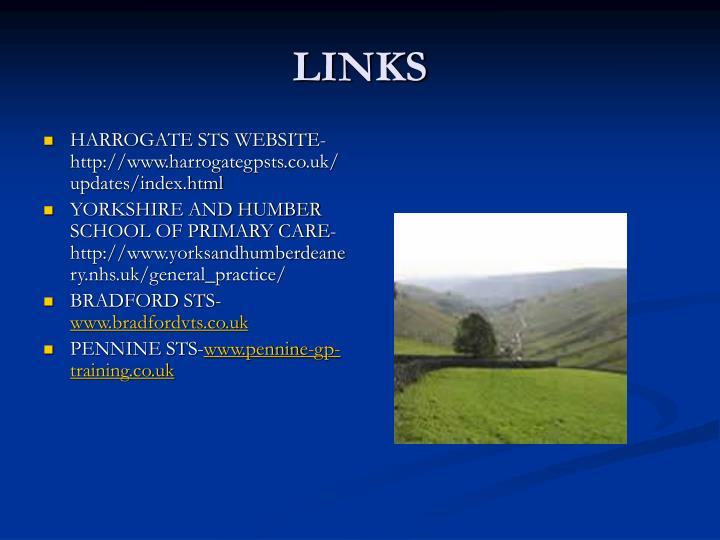 HARROGATE STS WEBSITE-http://www.harrogategpsts.co.uk/updates/index.html