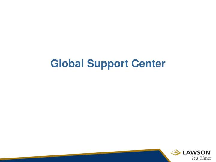 Global Support Center