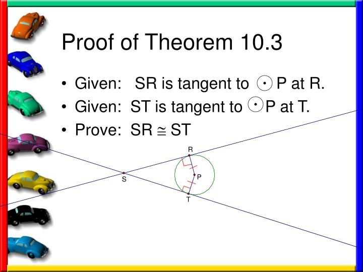 Proof of Theorem 10.3