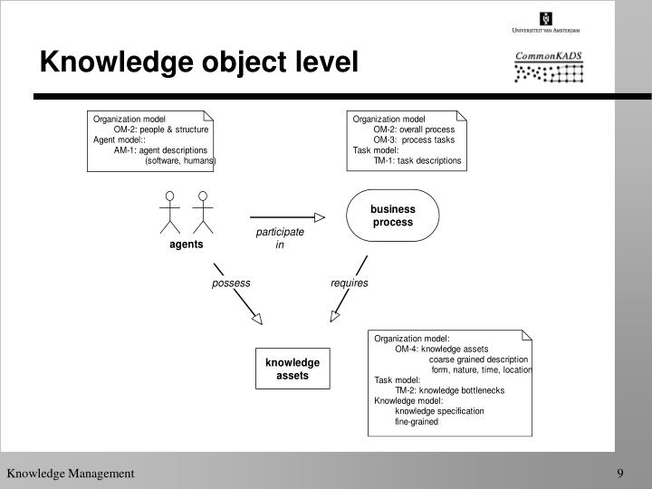 Knowledge object level