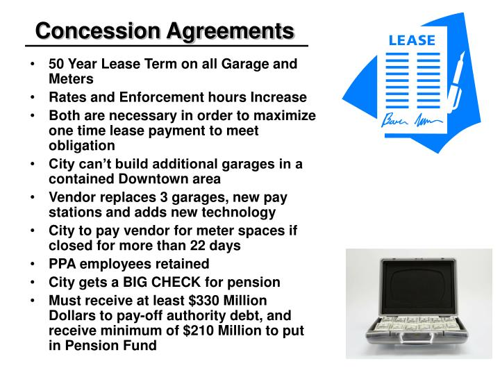 Concession Agreements