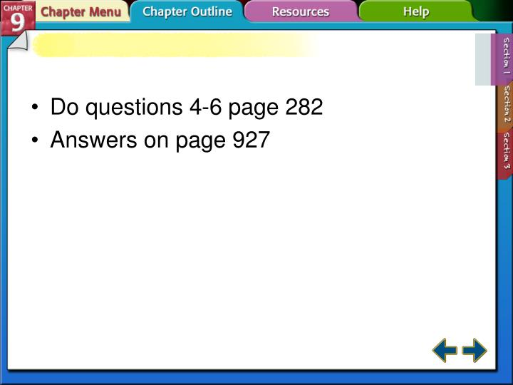 Do questions 4-6 page 282