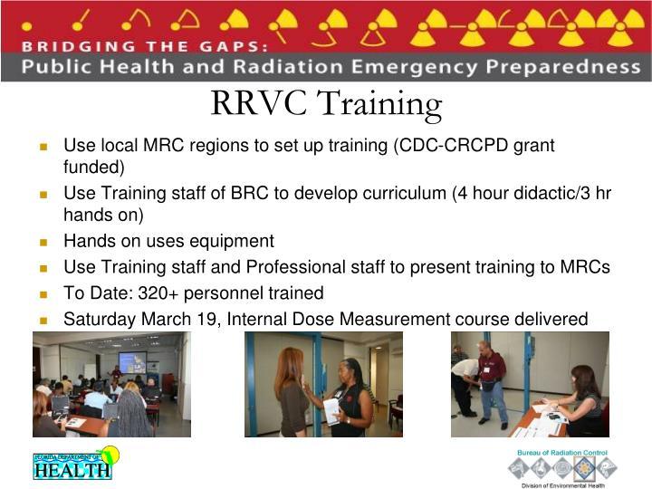 RRVC Training