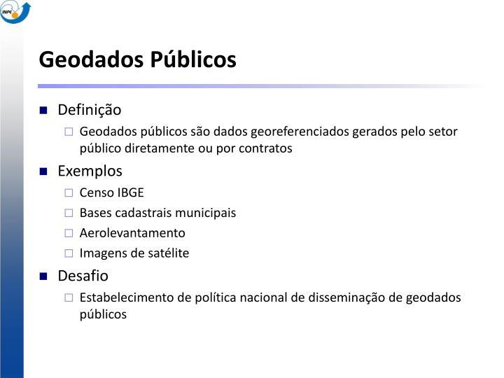 Geodados Públicos