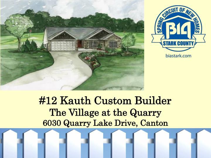 #12 Kauth Custom Builder
