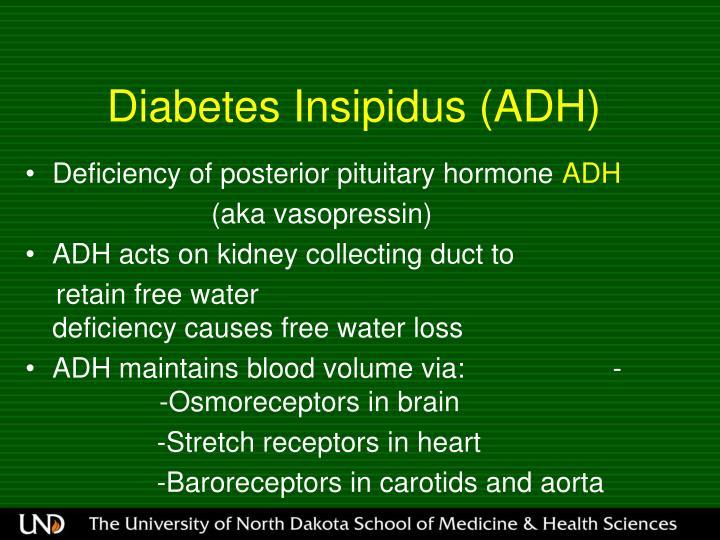 Diabetes Insipidus (ADH)