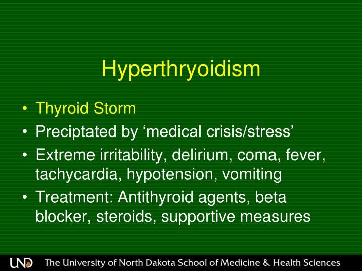 Hyperthryoidism