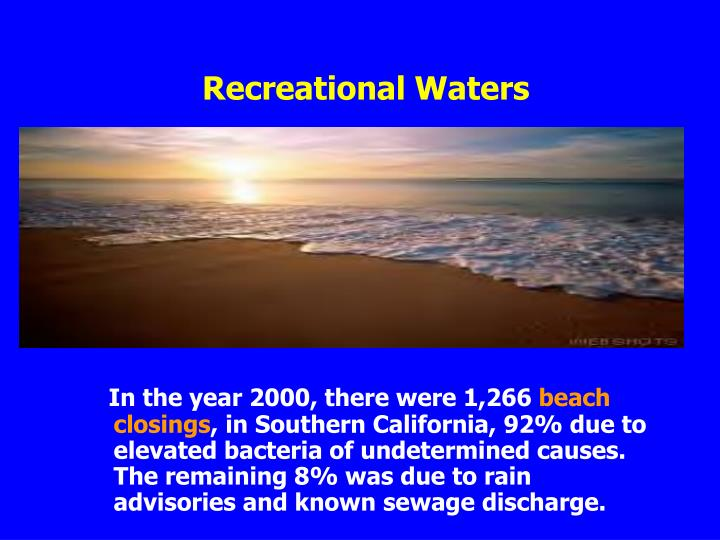 Recreational Waters