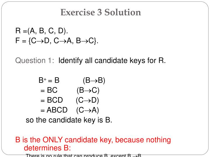 Exercise 3 Solution