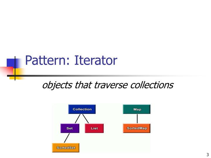 Pattern: Iterator