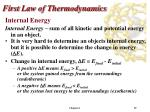 first law of thermodynamics1