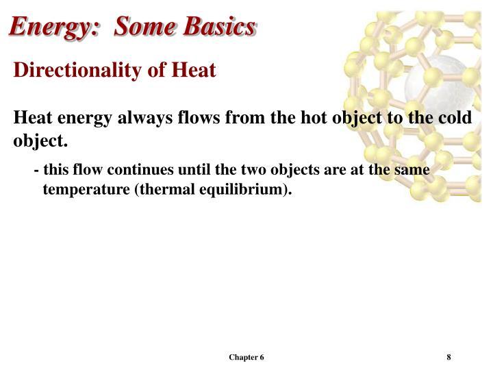 Energy:  Some Basics