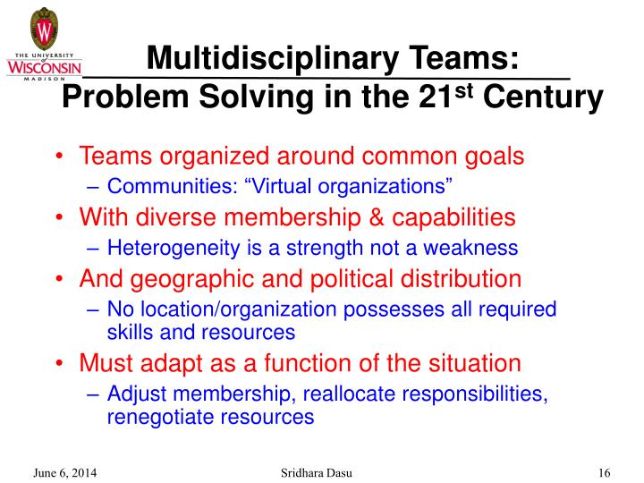 Multidisciplinary Teams: