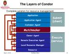 the layers of condor
