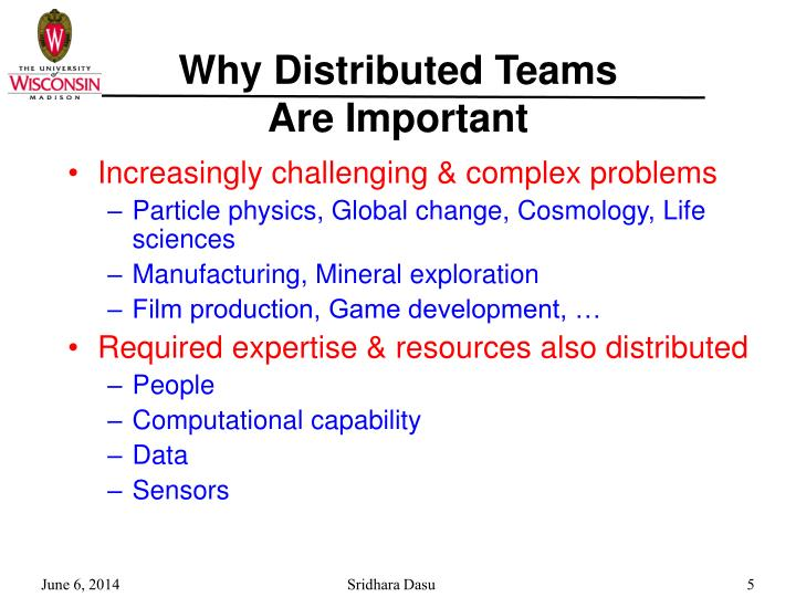 Why Distributed Teams