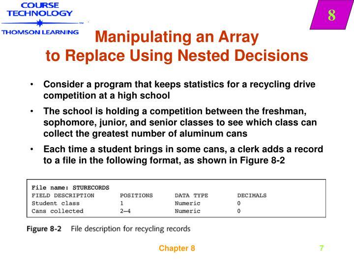 Manipulating an Array