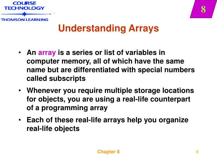Understanding Arrays