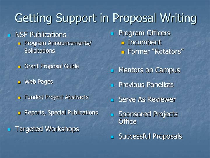 NSF Publications