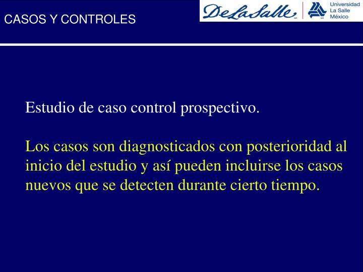 CASOS Y CONTROLES