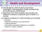 health and development2