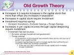 old growth theory1