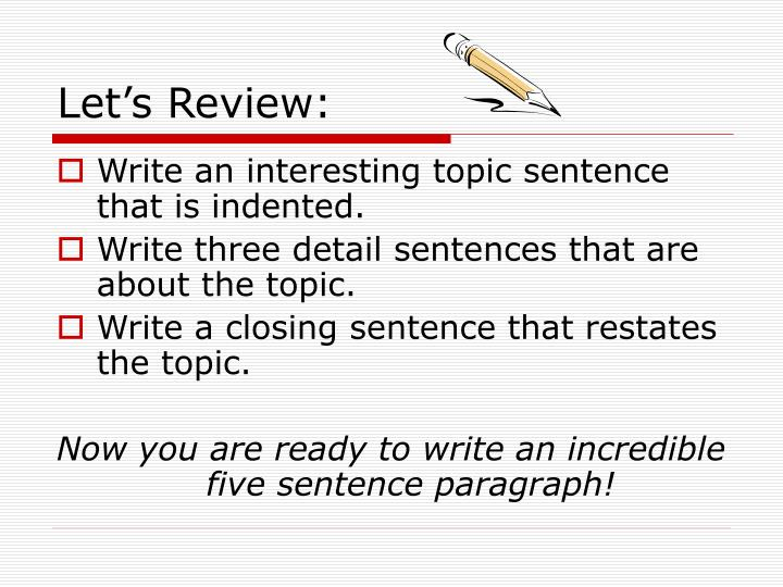 How to write a 5 paragraph essay powerpoint