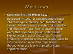 water laws1