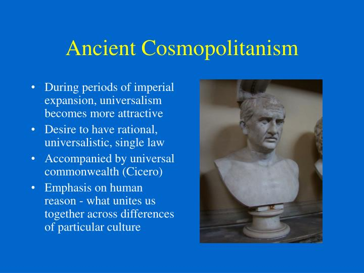 Ancient Cosmopolitanism