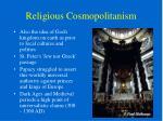 religious cosmopolitanism