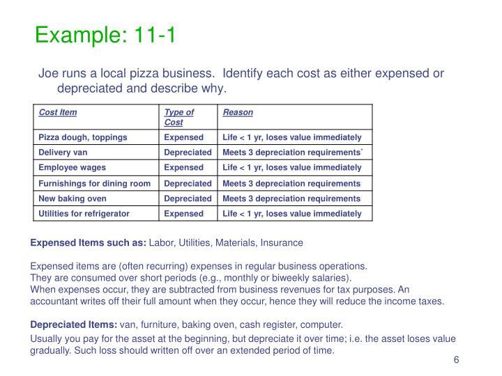 Example: 11-1